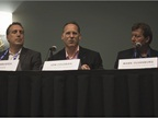Marc Deustch of Nissan, Jon Coleman of Ford, and Mark Oldenburg of