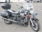 This Moto Guzzi arrived for display and wasn t tested.