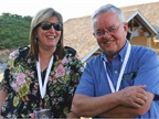 LabCorp s Lynda Dinwiddie and Mike Sims of the LDS church