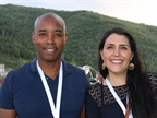 Brian Woods of OMSC and Angelica Martinez of Volkswagen de Mexico