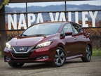 The 2018 model-year leaf will start at $29,990. Its base trim level along with the higher trims have all seen price reductions this year. Photo courtesy of Nissan.