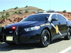 The New Mexico State Police's P.I. sedan