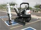 Bobcat also had an E35 Compact Excavator at the conference.