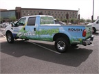 ROUSH CleanTech also had a propane autogas-fueled F-250 at the event.