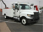 This International TerraStar features a service body from United Truck