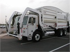 Here is a DaDee Mantis refuse truck.