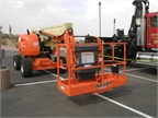 This is a JLG Lift brought by RSC Rentals.