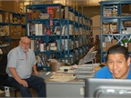 NAPA IBS employees at the county provide the fleet with parts.