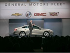 Ed Peper, U.S. vice president, General Motors Fleet, opened the