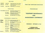 PFSA Equipment Maintenance and Management Conference, 1965 (page 1 of