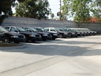 The city replaces 25 police vehicles per year based on a patrol car s