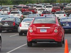 GM assembled 180 models for fleet managers to test drive. There was no