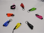 The ResQMe car escape tool is available in a variety of colors.