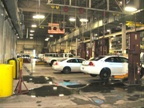 Here are the department s preventive maintenance bays.