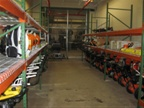 This is Equipment Services  small equipment room.