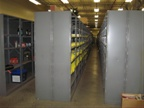 This is the parts stockroom for Equipment Services.