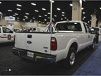 Roush CleanTech brought a propane autogas-fueled Ford Super Duty pickup to the event.