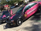 For 2017, the San Joaquin County Sheriff s Office chose a bolder pink