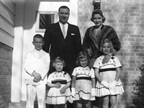 An early family photo. Talk about outsize pleasures: There were still