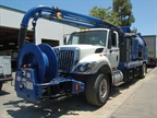 This Vac Con vacuum truck is in use by a contractor company. It s a