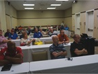 Attendees are pictured at an educational session. Photo by Mark Kostos