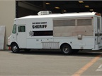 The sheriff s command lunch truck provides meals to sheriff s deputies