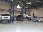 This facility is used to service about 1,500 vehicles,  mostly