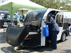 Good Earth Energ Conservation s Firefly purpose-built electric vehicle