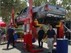 Rotary lift column lifts