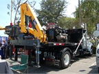 COPMA crane with hook lift system