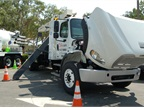 Culver City Public Works truck with Freighliner chassis, ISLG CNG