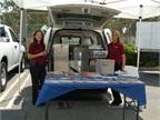Dodge Ram CV with Industrial Van aluminum Ranger shelving package