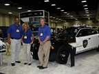 Representatives from Chrysler at the automaker s booth.