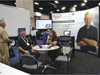Spireon representatives visited with attendees at GFX this year.
