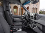 The third-gen Sprinter features a backup camera with a wiper system to