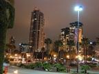 The San Diego skyline at night. (Photo courtesy Steve Riley.)