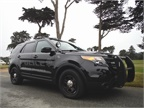 The ghost vehicles have proven popular enough with officers that South San Francisco Police Department have begun to phase out traditional black and white patrol cars. Photo: South San Francisco Police Department