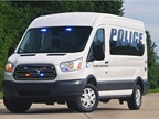 Ford's Transit PTV concept is built with a medium height and long wheelbase. It was upfitted at Havis Prisoner Transport Solutions in Warminster, Pa.