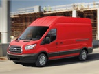 The full-size Transit van is available in three roof heights; three