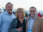 (left) Bryan Taylor, Ford national account manager, (middle) Michele