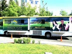 Medical Clinic on the Road In Contra Costa County, Calif., a fleet of