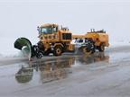 Keeping Snow Off Airports The Lambert St. Louis (Mo.) International