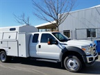 CNG Service Truck The State of Oregon s 2014 F-450 service body truck
