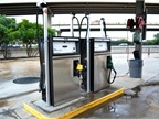 In 2011, the fleet completed conversion of its fueling station to also