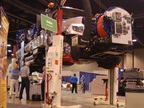 Vactor 2100 Plus on Stertil Koni earthlift
