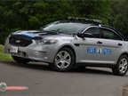 The Virginia State Police's Ford Police Interceptor sedan.