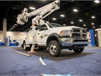 An Altec bucket truck is pictured here.