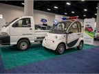 EcoCentre showed several electric vehicles.