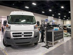 Attendees could view the Ram ProMaster in the exhibit hall.