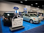Ford brought three vehicles to the show floor.